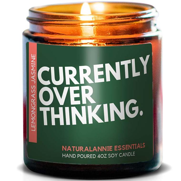 Currently Overthinking Candle