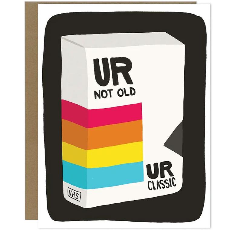 UR Classic VHS Tape Happy Birthday Card