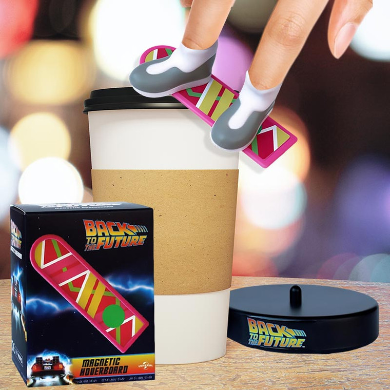 Finger Sized Back to the Future Mini Hoverboard