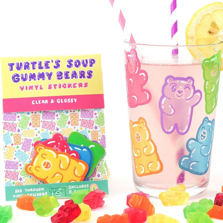 Gummy Bears Sticker Pack