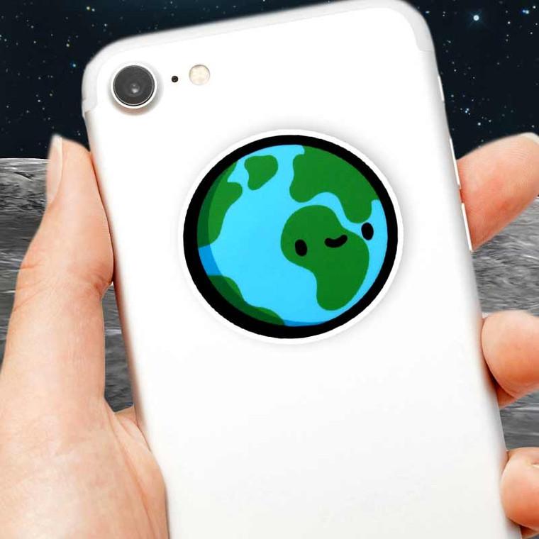Cute Mini Earth Sticker