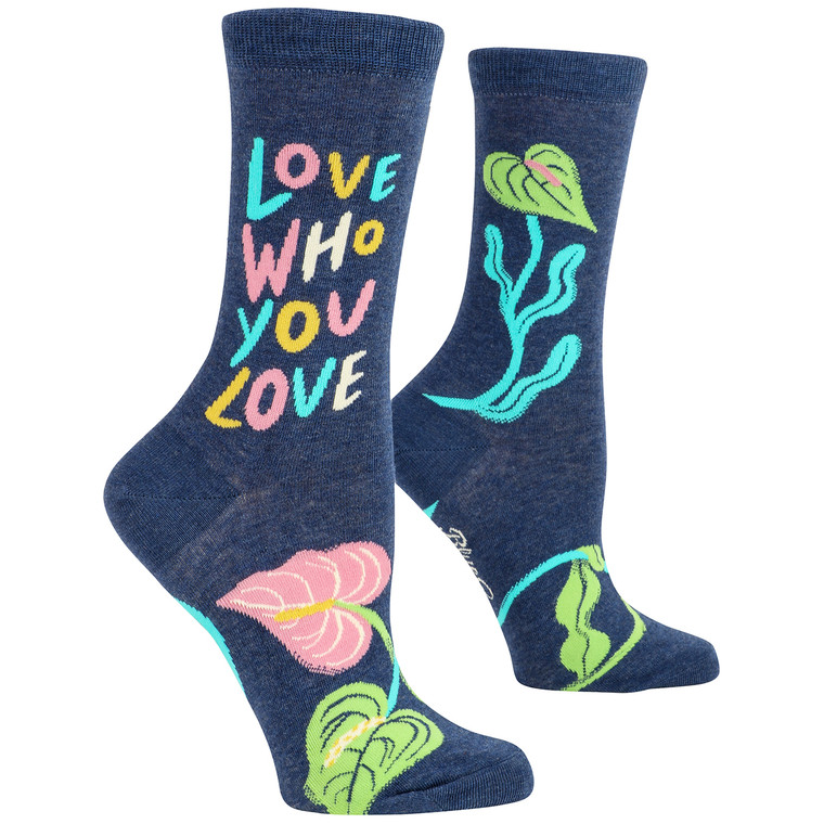 Love Who You Love Womens Crew Socks