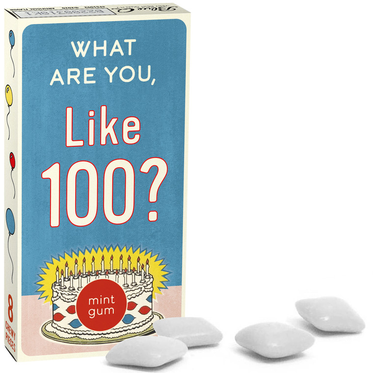 What Are You, Like 100? Blue Q Gum
