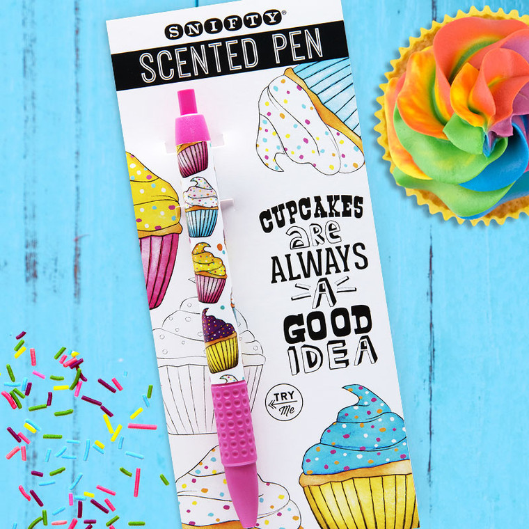 Cupcake Scented Snifty Pen