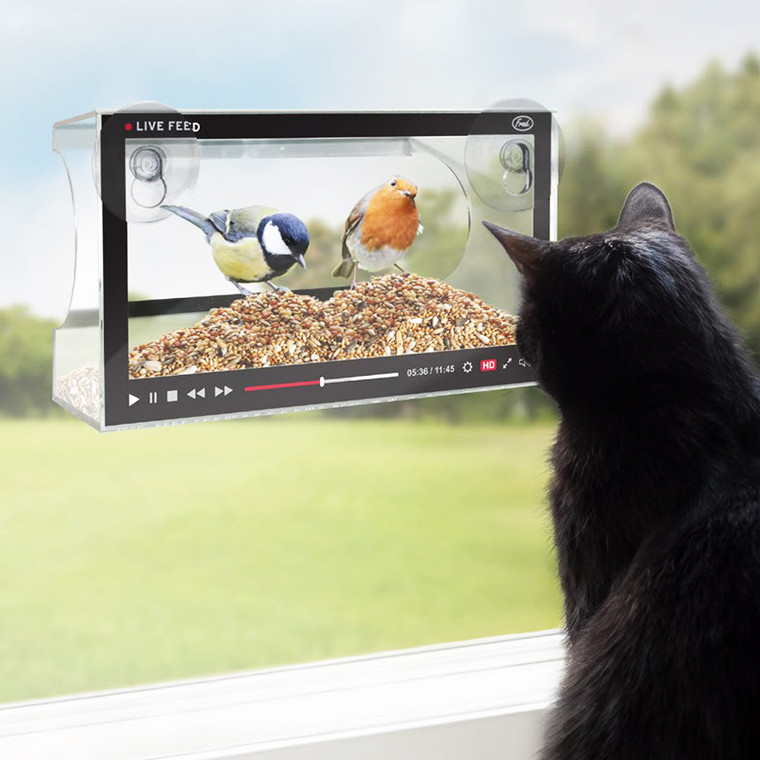 Howligans Live Feed Bird Feeder by Fred