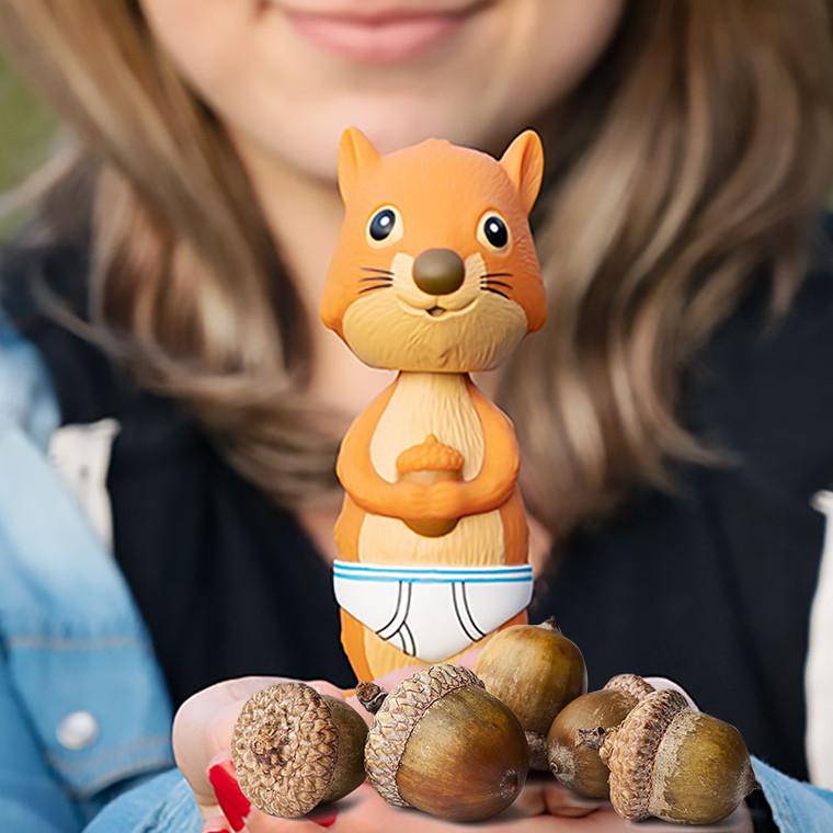 Nodder Squirrel in Underpants