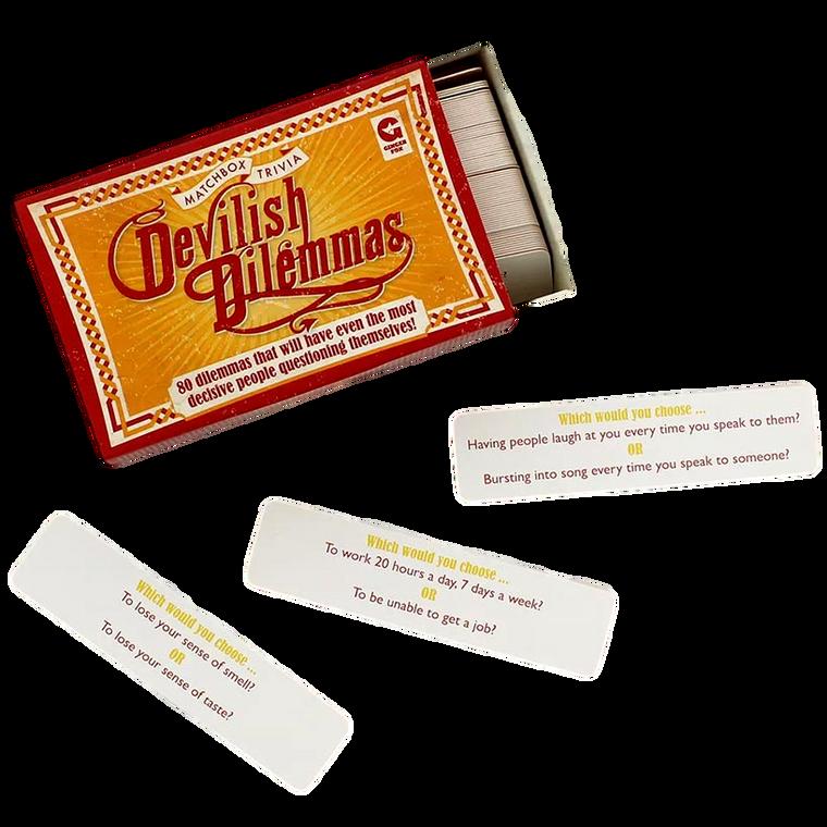 Devilish Dilemmas Matchbox Trivia