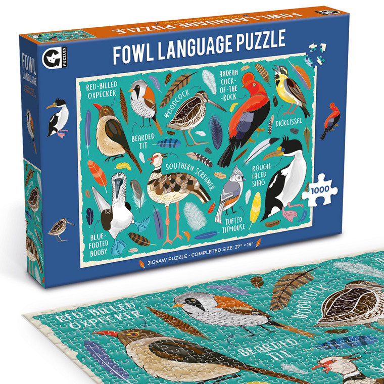 Fowl Language Bird Puzzle