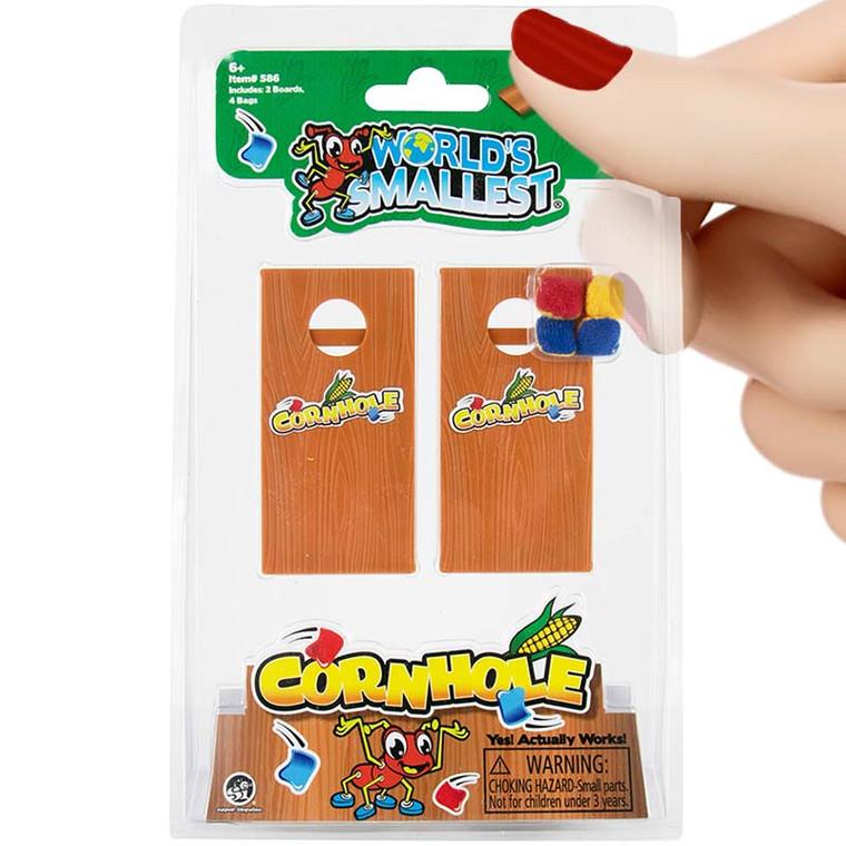 World's Smallest Cornhole Game