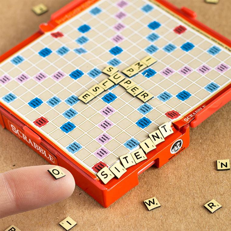 World's Smallest Scrabble Board Game