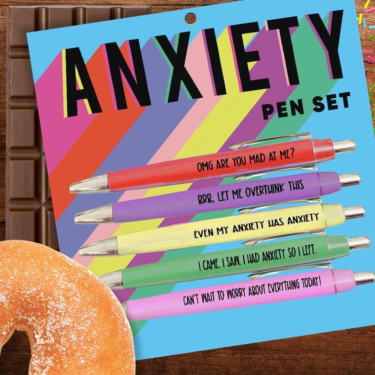 Anxiety Pen Set