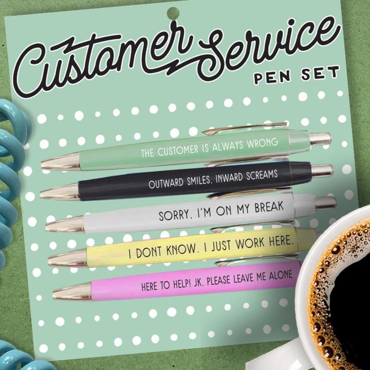 Funny Customer Service Pens
