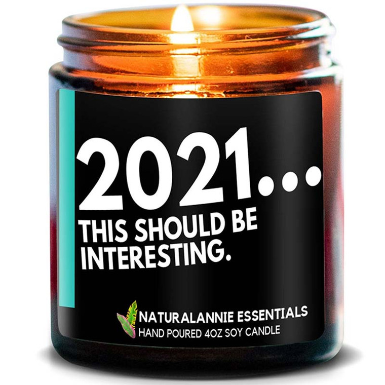 2021... This Should Be Interesting Candle