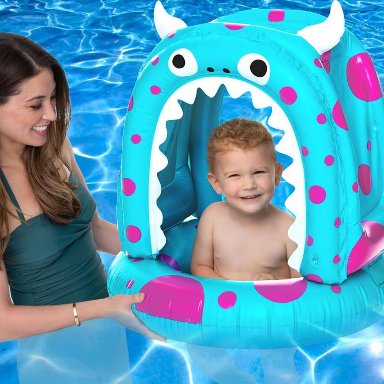 Little Monster Baby Canopy Pool Float
