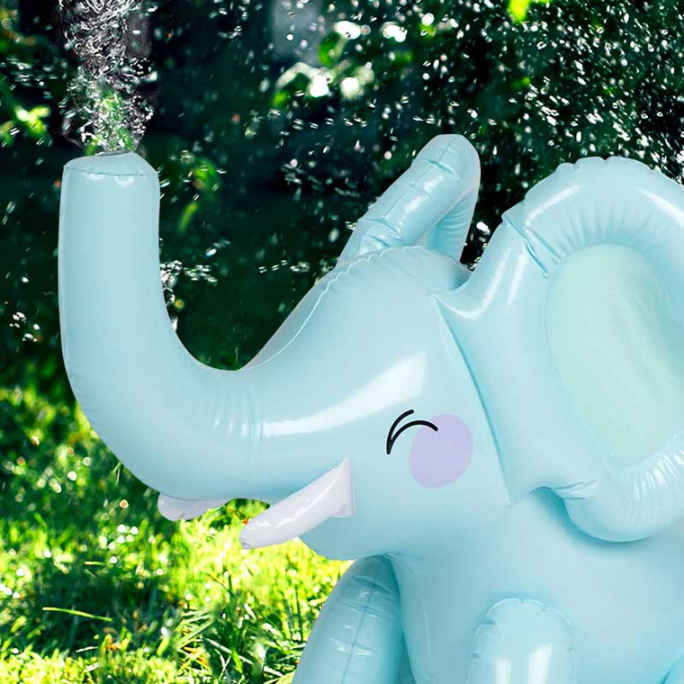 Kid's Inflatable Baby Elephant Water Sprinkler Toy