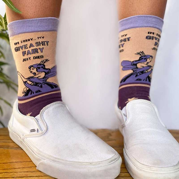 I'm Sorry… My Give A Shit Fairy Just Died Socks
