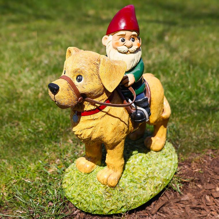 Labrador Retriever Garden Gnome
