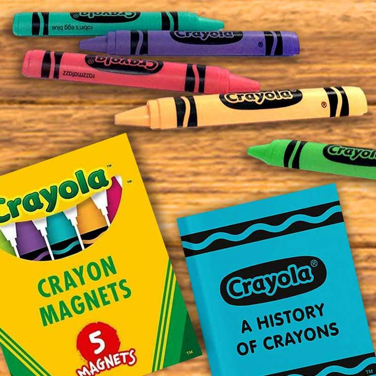Official Crayola Crayon Magnets