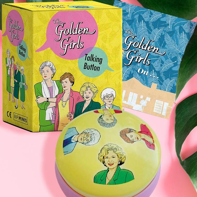 The Golden Girls Talking Button