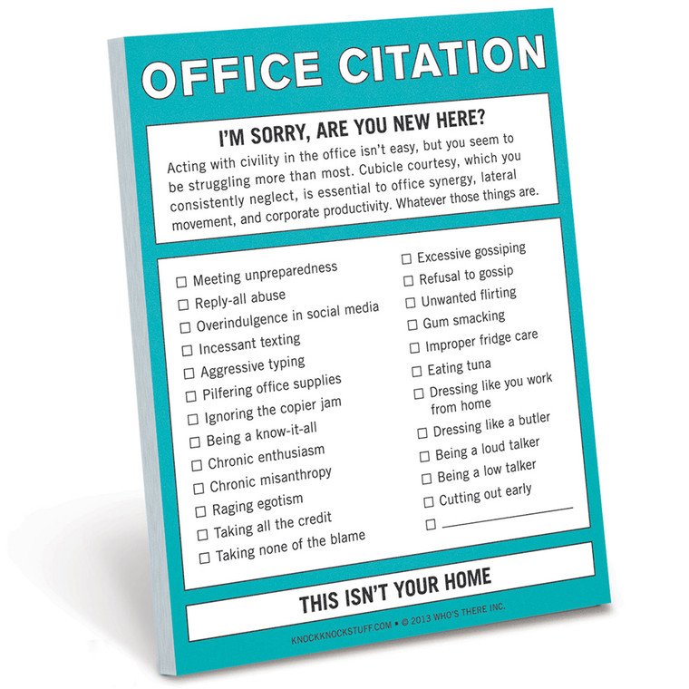 Office Citation Nifty Note Pad