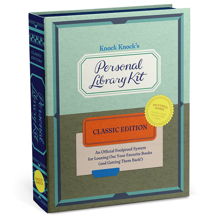 Book Clun Gift! Personal Library Kit Classic Edition