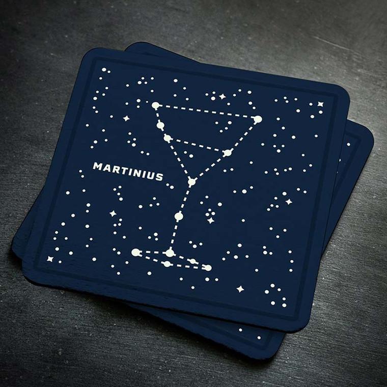Bar Stars Glow-in-the-Dark Coasters