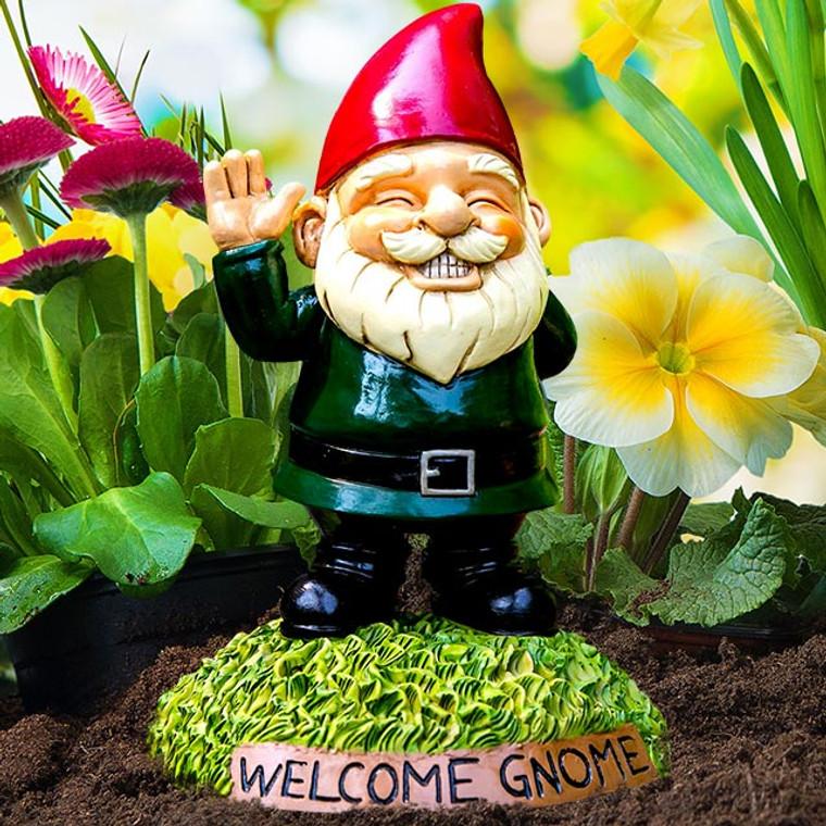 Hide-A-Key Garden Gnome