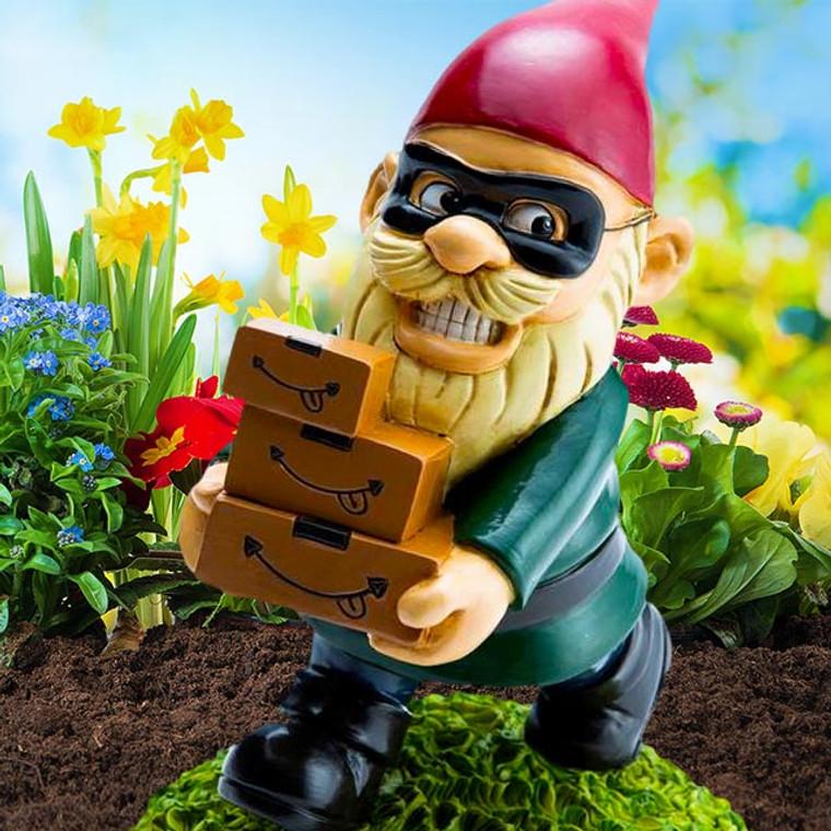 Porch Pirate Garden Gnome