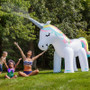 As seen on Rachel Ray with Katie Linendoll!  Ginormous Unicorn Yard Sprinkler