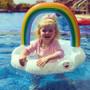 Big Mouth Toys Lil' Rainbow Kiddie Pool Float @daniellliep