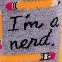 I'm A Nerd Women's Crew Socks