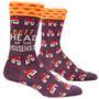 Butthead Of The Household Crew Socks