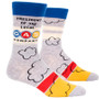President Of Local Gas Company Men's Crew Socks