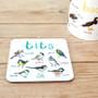 Dirty Bird Names: Tit Bird Coaster