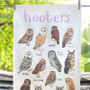 Hooters Owl Pun Dish Towel