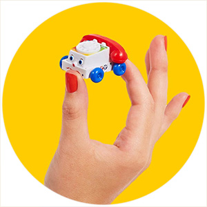 Miniaturized Toys + Gifts