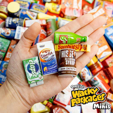 Details about  /WACKY PACKAGES MINIS 3D PUNY PRODUCTS TOPPS 6UP SODA POP BOTTLE SPOOF FOOD