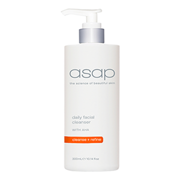 ASAP Daily Cleanser is a  limited Edition product contains  50% more  for only $55  while stocks last