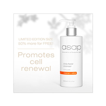 NEW Daily Facial Cleanser with 50% EXTRA for FREE this is a Limited Edition so be quick