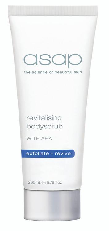 Revitalising body scrub