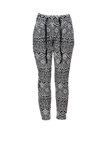 Aztec Diamond Printed Jogger
