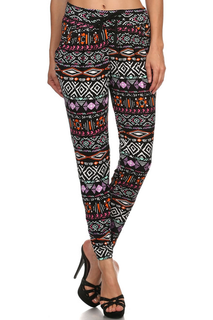 Abstract Geo Printed Jogger
