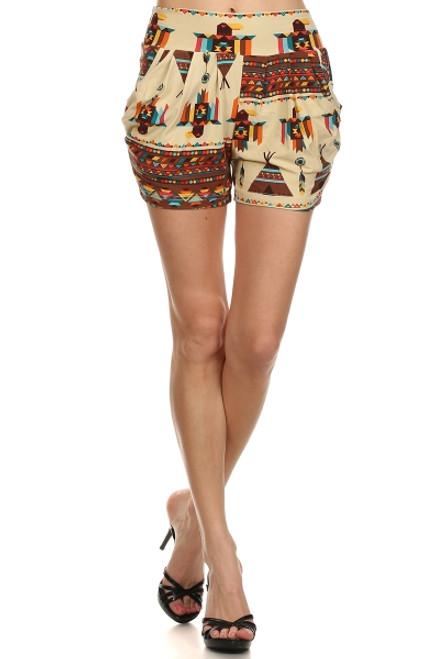 Ivory Teepee Shorts