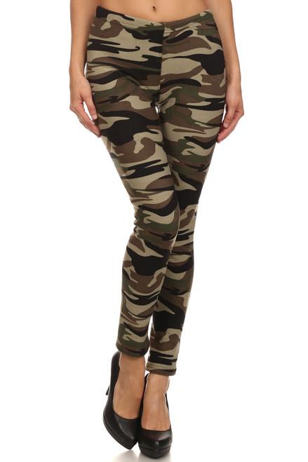 Camouflage Printed Leggings