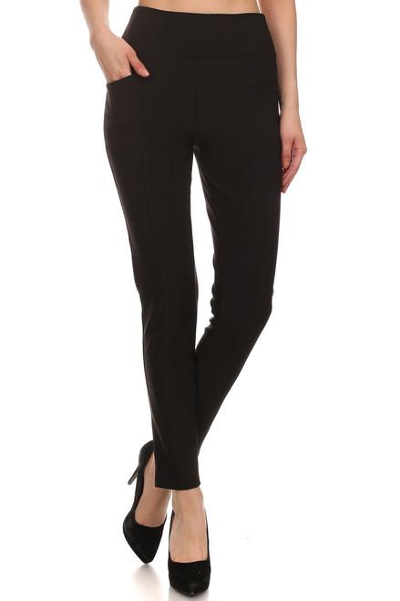 Black 2 Pocket Skinny Pant