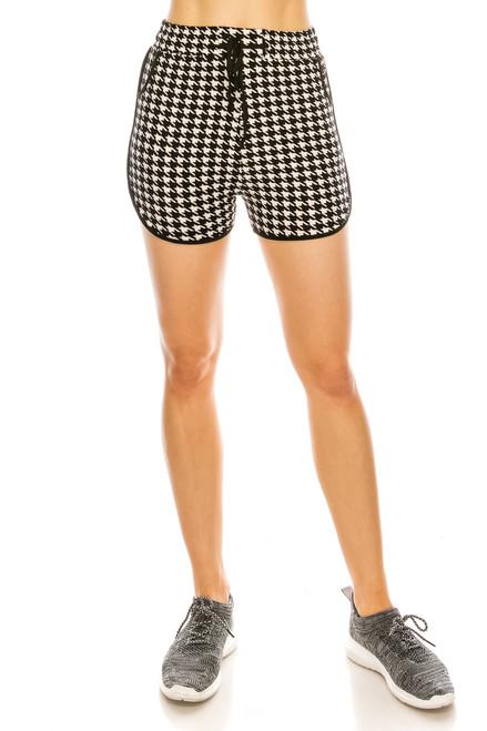 Houndtooth Dolphin Shorts