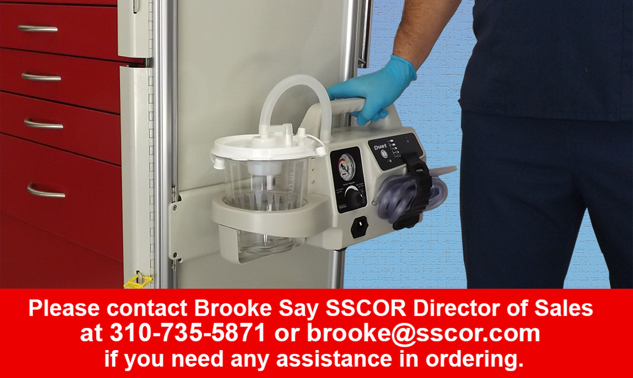 SSCOR Duet with Retention Bracket