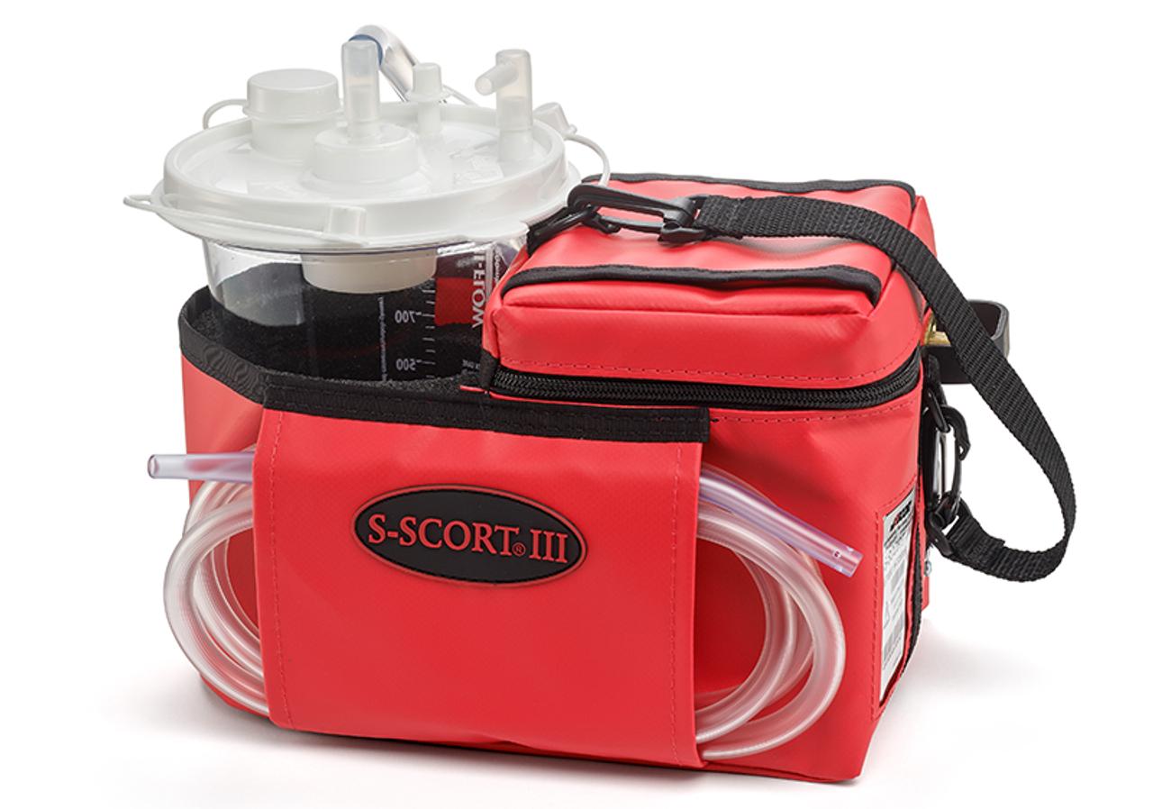 S-SCORT III Portable Suction Unit