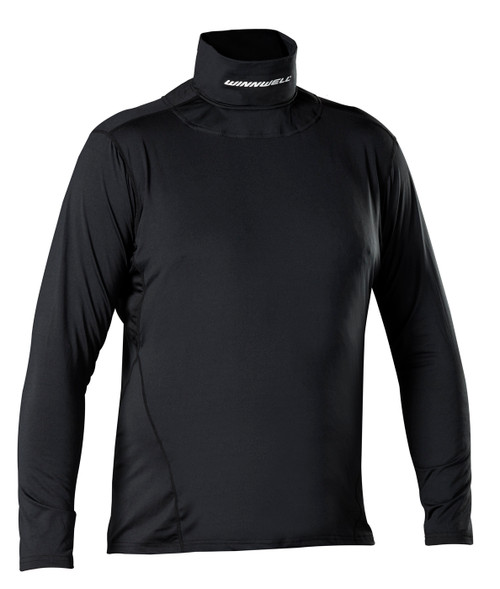 BASE LAYER TOP WITH BUILT IN NECK GUARD (YTH)