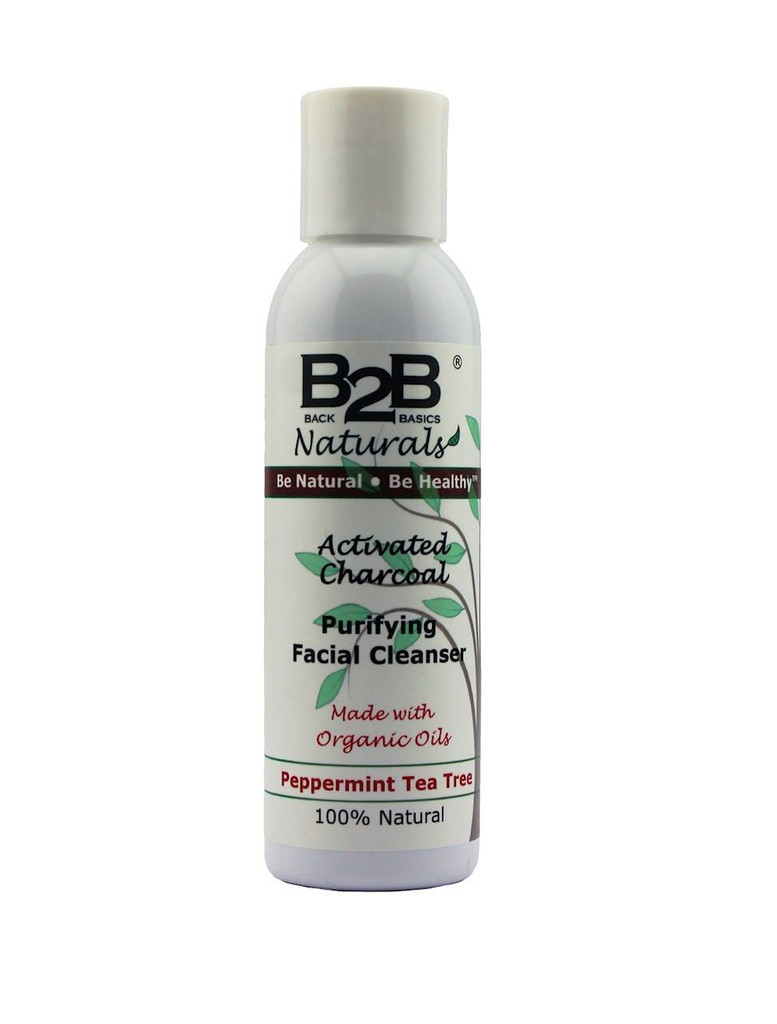 B2B Naturals® Activated Charcoal Purifying Facial Cleanser for a clean and healthy glow!
